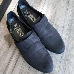 Mephisto ankle boot suede upper